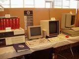 The AT&T 3B2 and several terminals were on display.