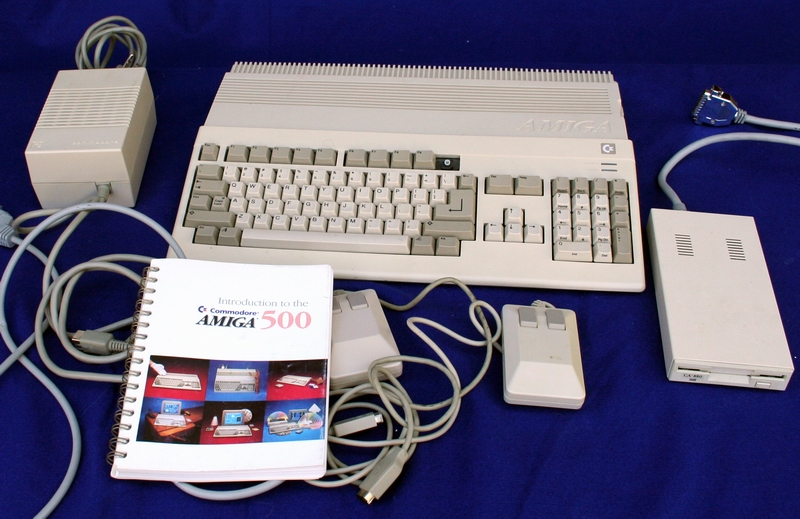 The Amiga 500 Computer