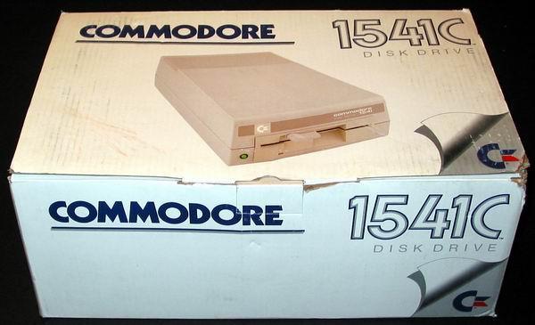 The commodore 1541 disk drive box
