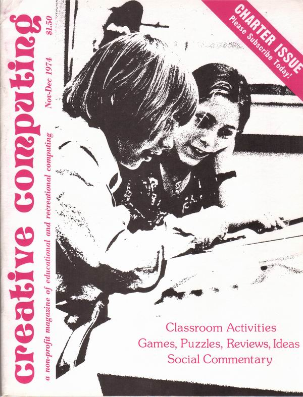 Charter Issue of Creative Computing Magazine
