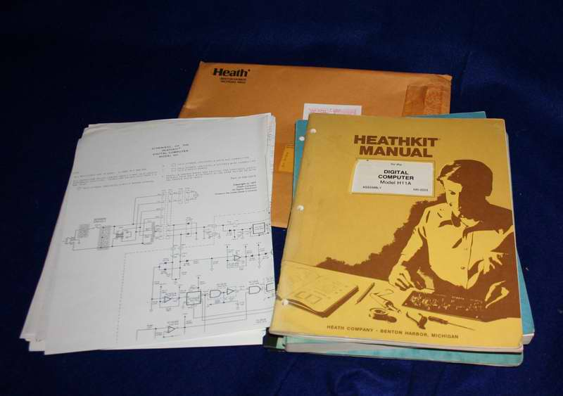Heathkit H-11 manual and schematics