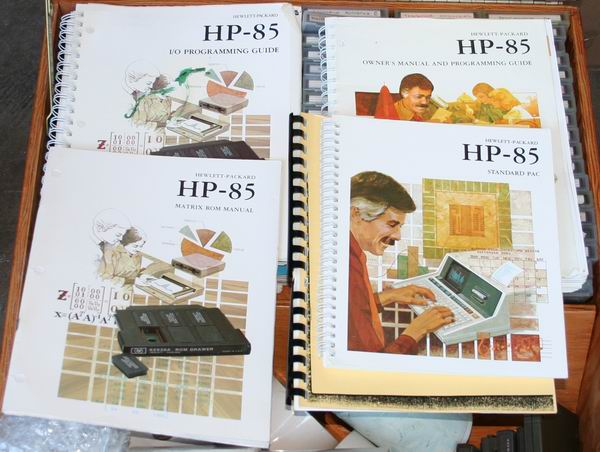 Hewlett Packard 85 documentation