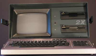The Kaypro 2x Portable Computer