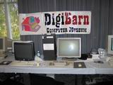 >More of the DigiBarn exhibit including some of the Mazewar terminals.