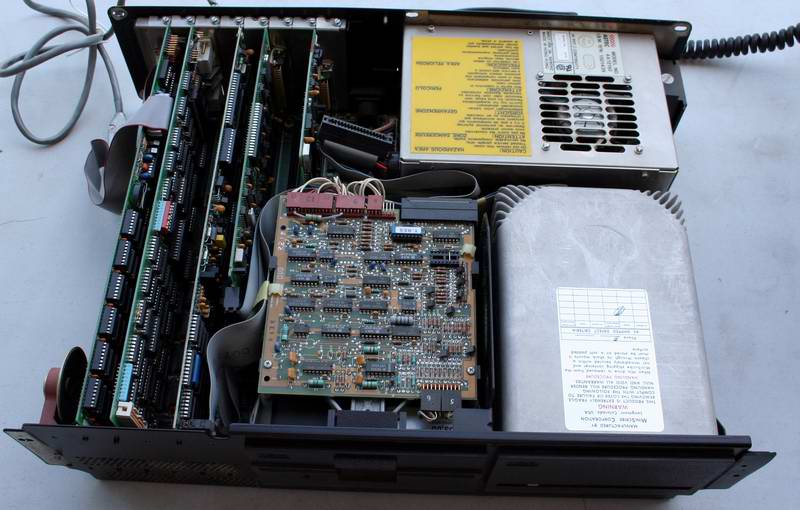 Interior of the IBM PC XT