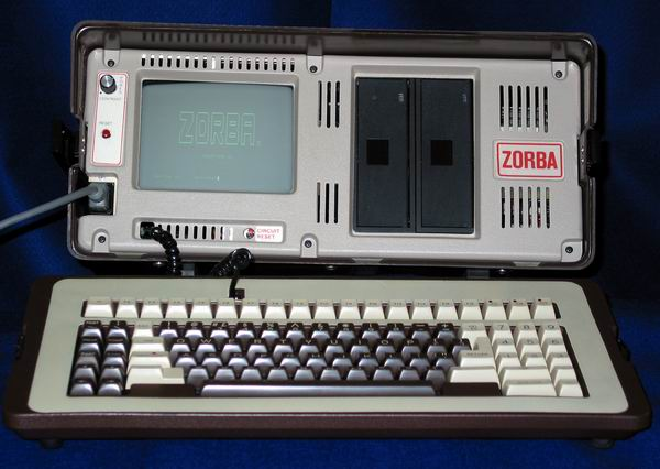 The front of the Telcon Zorba Computer