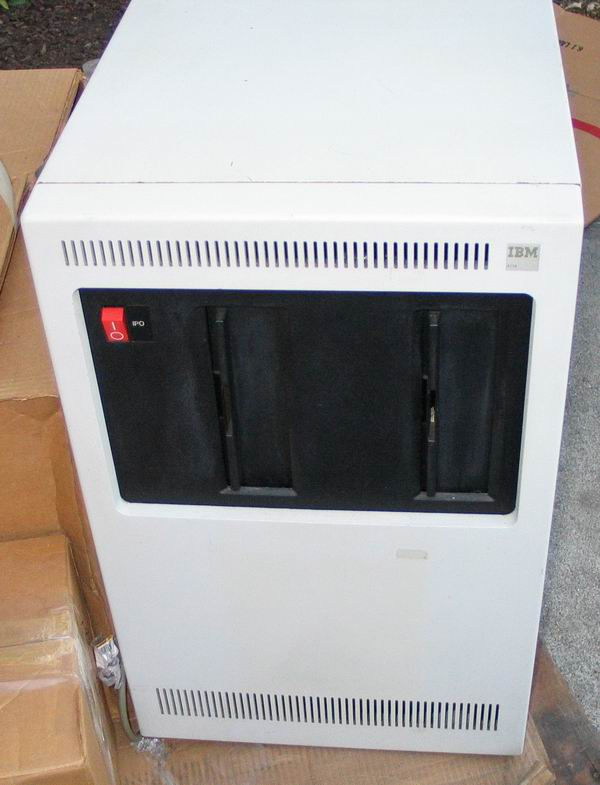 IBM 8 inch disk drive cabinet