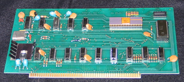 The IMSAI Processor Board